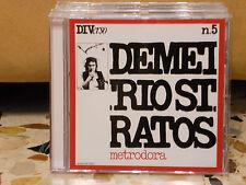DEMETRIO STRATOS - METRODORA - CD NUOVO RISTAMPA SONY MUSIC 2016