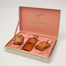 Vtg Luxury Surprise Gift Set White Shoulders Most Precious Splash Body Perfume