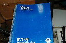 Yale Modell Erpr Gabelstapler Teile Manuell Buch Katalog Liste Ersatz 1980