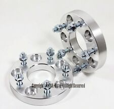 2 Pcs W/O Hub Lip Wheel Spacers | 5X4.75 5X120.7 | 70.3 CB | 12 X1.5 | 25MM