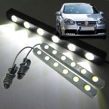 2x White Car Daytime Running Fog LED Light 6W 6-LED 16cm Eagle Eye Bar DRL