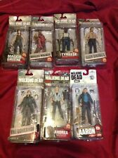 McFarlane Walking Dead Action Figures - Lot of 7 - In Packages Rick Maggie