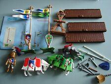 Playmobil Knights' Tournament Set  Jousting 3287 Rare