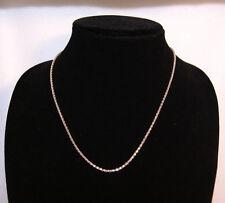 Macy's SterlingSilver Necklace Retail $100   -   UPC:0082094