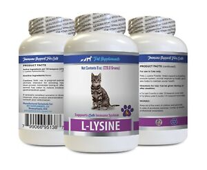 pet wellbeing immune support cats - CAT LYSINE POWDER - cat lysine powder 1B