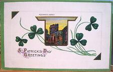 Irish Postcard St Patricks Day MUCKROSS ABBEY Killarney Ireland Series 43 B