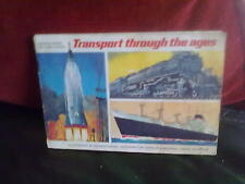 Brooke Bond Transport Through the Ages Incomplete -4 Official Album Tea Cards