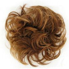 chouchou peruk cheveux blond foncé cuivré ref: 17 en g27