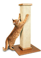 Large Cat Scratching Post 32 In Durable Stable Sisal Wood Exercise Extra Large