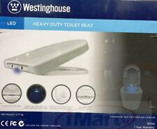 Westinghouse Toilet Seat LED Lights Soft Close Quick Release Sound Activated