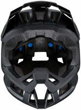 100% Trajecta Helmet: Black SM