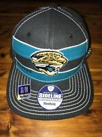 New Reebok Official Sideline Jacksonville Jaguars Fitted Hat S/M NFL Fast Ship