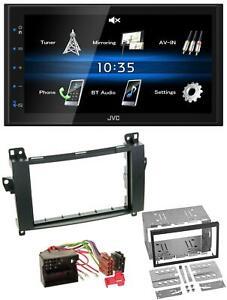 JVC USB 2DIN Bluetooth MP3 AUX Autoradio für Mercedes Viano Vito W639 06-14