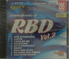 RBD #2 Karaoke LAS295 Tropical Zone Spanish Español CDG