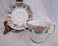 Roslyn Country Ramble Bone China England Tea Cup and Saucer