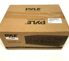 Pyle PTA4 Mini Stereo Power Amplifier 2x120 Watt with AUX CD Mic Inputs NEW