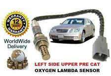 FOR LEXUS GS430 7/2000-> LEFT UPPER FRONT PRE CAT 02 OXYGEN LAMBDA SENSOR