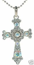 Premier Designs Crystal Cross Necklace