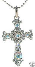 Premier Designs Crystal Cross Necklace