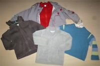 LOT RENTREE DES CLASSES- GARÇON-VESTE POLAIRE DECATHLON-.PULL-GILET-T.2 ANS-