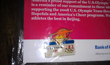 2008 Summer Olympic Games pin (Bank of America) Beijing; unopened, olympics