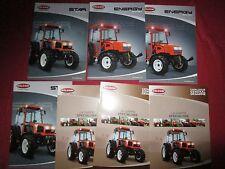 GOLDONI 7 catalogues gamme tracteur année 2005 environ