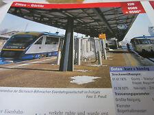Archiv  Eisenbahnstrecken 220 Zittau Görlitz
