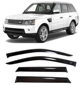For Range Rover Sport 2005-12 Window Side Visors Sun Rain Guard Vent Deflectors