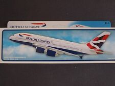 British Airways Airbus A380 Premier Portfolio Push Fit Model 1:250 - SM380-64HB