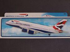 British Airways Airbus A380 Premier Portfolio Push Fit Model 1:250 - SM380-64HB