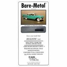 "Bare Metal Foil Company Bare-Metal Foil Sheet 11.75"" X 6"" ULTRA BRIGHT CHROME"