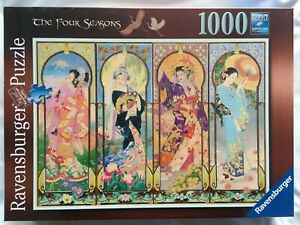 Brand New Ravensburger 1000 Piece Jigsaw Puzzle - THE FOUR SEASONS