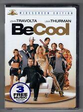 BE COOL new dvd JOHN TRAVOLTA UMA THURMAN VINCE VAUGHN CHRISTINA MILIAN