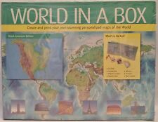 World in a Box Ben Renow-Clarke (2008, Kit) Maps Geography Education CD ROM