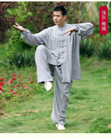 Uniform Martial Arts Tai Chi Cotton Kung Fu Wushu Clothing Taiji Wing Chun Suit