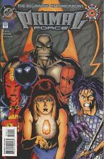 DC Primal Force 1  2 and  0  Red Tornado