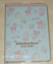 2018 Sanrio Little Twin Stars Schedule Book Diary Planner Notebook