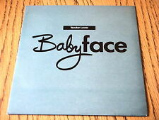 "BABY FACE - TENDER LOVE  7"" VINYL PS"