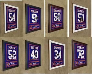 Chicago Bears Framed 8x10 Photo Walter Payton Ditka Sayers Urlacher Butkus