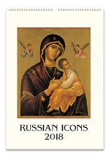 Cavallini - 2018 Wall Calendar - 13 x 19ins - Russian Icons