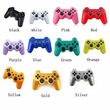Lot 2 Wireless Controller Bluetooth for Sony PlayStation 3 PS3 Choose your Color
