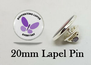 Lupus Lapel Pin - A Great Gift