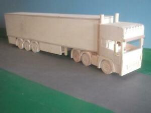 1:24th Scale Scania R Artic Wooden Model Truck