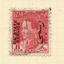 Iraq 1930s Official Early Issue Fine Used 8f. Optd 169969