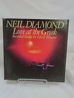 Reel to Reel Tape - Neil Diamond - Love at the Greek - 3 3/4 IPS - 4 Track