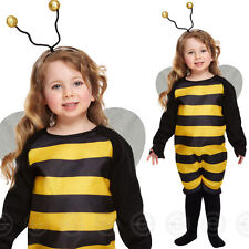 BUMBLE BEE TODDLER FANCY DRESS GIRLS COSTUME AGE 2-3 YEARS INSECT ANIMAL CHILDS