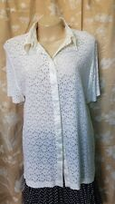 Size 16 #A031 Postie Fashions Ladies Lace Top Blouse Event Evening Casual Holida