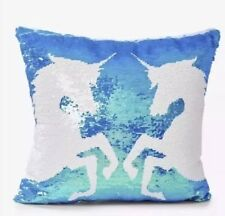 Justice flip sequin unicorn Shimmer pillow brand new!! Last One!