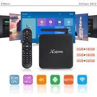 2.4G/5GHz Wifi Amlogic S912 Android TV Box Octa Core 4K Smart Set top box BT4.0