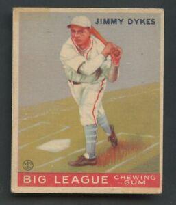 1933 Goudey #6 Jimmy Dukes Chicago White Sox